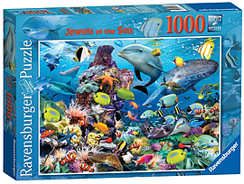 Jewels of The Sea Puzzle (1000 Pieces) Traditional Games