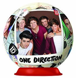 One Direction 3D Puzzle 72pc Traditional Games