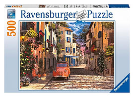 Heart of Southern France Puzzle (500 Pieces) Traditional Games