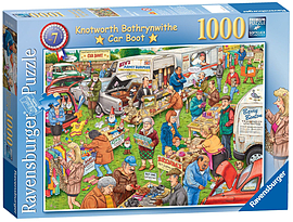 Best Of British The Car Boot Sale Puzzle (1000 Pieces) Traditional Games