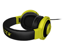 Razer Kraken Pro Neon Analog Gaming Headset - Yellow, Headband, Sound Isolation screen shot 1