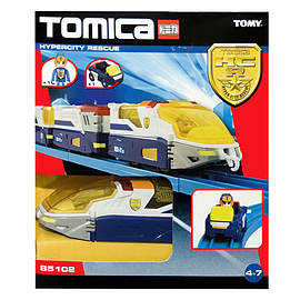 Tomica Hyper City Rescue Patrol Liner Figurines and Sets