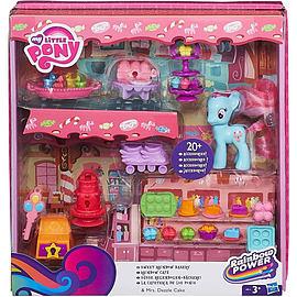 My Little Pony Rainbow Power Mrs Dazzle Bakery Playset Pre School Toys
