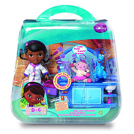 Doc McStuffins Magic Talking Check Up Playset Figurines and Sets
