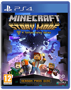 Minecraft: Story Mode PlayStation 4 Cover Art