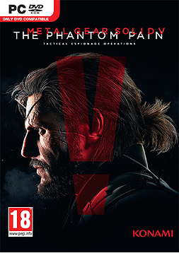 Metal Gear Solid V: The Phantom Pain PC Games Cover Art