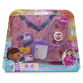 Doc McStuffins Scrubs Role Play Dress Up Set Figurines and Sets