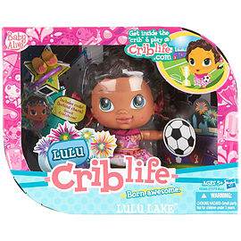 Baby Alive Crib Life Lulu Lake Fashion Doll Figurines and Sets