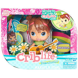 Baby Alive Crib Life Makayla Song Fashion Doll Figurines and Sets
