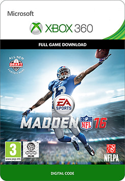 DL 360 MADDEN NFL 16 Xbox 360