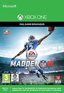 Madden NFL 16 (Xbox One) Xbox One