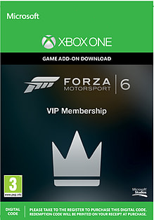 DL XONE FORZA MS 6 VIP MEMBER Xbox One