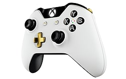 Official Xbox One Wireless Controller - Special Edition Lunar White screen shot 3