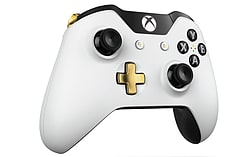 Official Xbox One Wireless Controller - Special Edition Lunar White screen shot 4