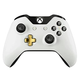 Official Xbox One Wireless Controller - Special Edition Lunar White Xbox One