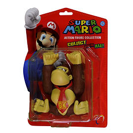 12cm Series 1 Super Mario Figure (Donkey Kong) Figurines and Sets