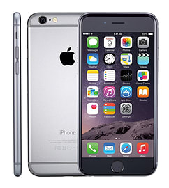 APPLE IPHONE 6 PLUS 128GB GREY SIM FREE UNLOCKED MOBILE PHONE - GRADE B Phones