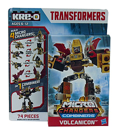 Kre-o Transformers Micro Change Combiner Volcanican Figurines and Sets