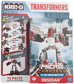 Kre-o Transformers Micro Change Combiner Obsidian Figurines and Sets