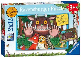 Ravensburger The Gruffalo 2 x 12 Traditional Games