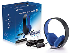 PlayStation Silver Wired Stereo Headset PS3
