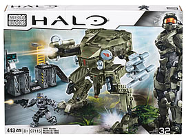 Mega Bloks Halo UNSC Mantis Blocks and Bricks