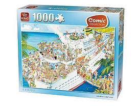 King Cruise Puzzle (1000 Pieces) Traditional Games