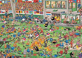 Jan Van Haasteren Championship Football Puzzle (2000 Pieces) Traditional Games