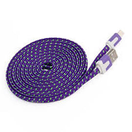 3M FLAT BRAIDED PURPLE Mobile phones