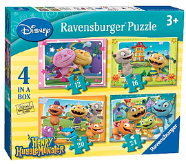 Henry Hugglemonster 4 in Box Jigsaw Puzzles Traditional Games