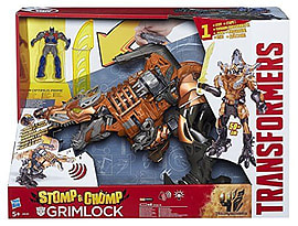 Transformers Age of Extinction Stomp and Chomp Grimlock Figure Figurines and Sets
