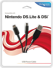 Blue Ocean USB DS and DSi Power Cable NDS