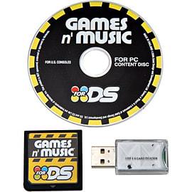 Datel Games n Music + 128MB Micro SD card NDS