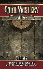 Shrines: Game Mastery Map Pack Books