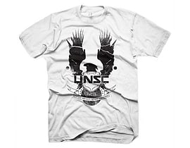 Halo 4 New Unsc Logo Extra Large T-shirt, White (ge1272xl) Clothing