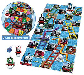 Thomas and Friends Snakes and Ladders Game Pre School Toys