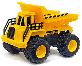 New Bright Wheels 4x4 Fours Construction - DUMP TRUCK Scaled Models