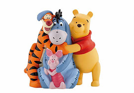 Money Bank Winnie and Friends Figurines and Sets