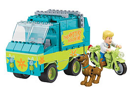 Character Building Scooby Doo Mystery Machine Set Figurines and Sets