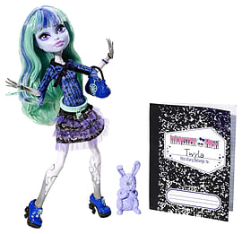 Monster High 13 Wishes Twyla Doll Figurines and Sets
