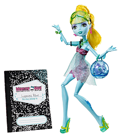 Monster High 13 Wishes Lagoona Blue Doll Figurines and Sets