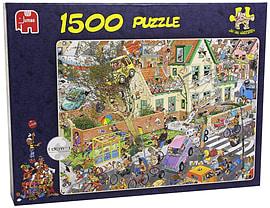 Jan Van Haasteren The Storm Puzzle (1500 pieces) Traditional Games