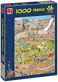 Jan Van Haasteren The Olympics Puzzle (1000 Pieces) Traditional Games