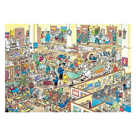 Jan Van Haasteren Get Well Soon! Puzzle (1000 Pieces) Traditional Games