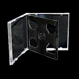 Replacement Dual CD case Audio