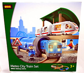 Metro City Train Set Pre School Toys