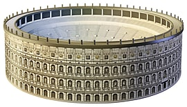 Colosseum Building 3D Puzzle 216pc Traditional Games