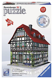 Medieval House 3D Puzzle 324pc Traditional Games