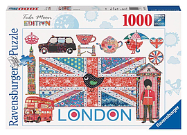 Tula Moon London 1000pc Jigsaw Traditional Games
