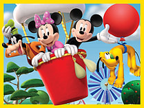 Mickey Mouse Clubhouse 4 in a Box Jigsaw screen shot 1
